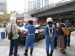 交通取締用パトカー展示2