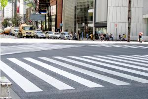 JR→日比谷線・銀座線乗換バリアフリールート04