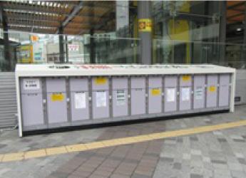 コインロッカー 有楽町駅前広場横