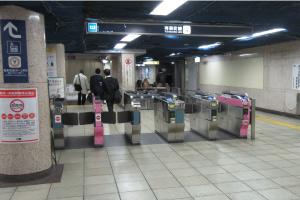 JR→有楽町線 雨の日ルート08