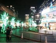 有楽町駅周辺 イルミネーション 2014-01